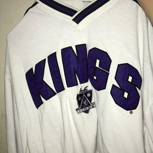 Tops - Vintage LA kings cropped jersey